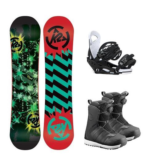 Kids Snowboard Package